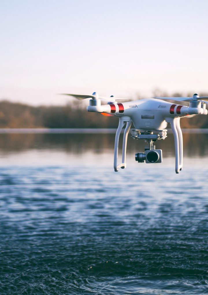 Drones and wildlife technology